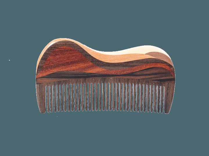 礼盒木写山水